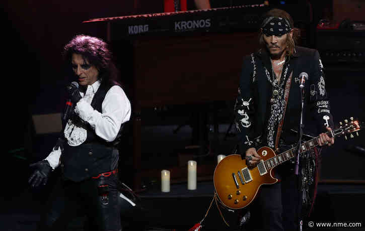 """Alice Cooper: """"Johnny Depp would rather play guitar than act"""""""