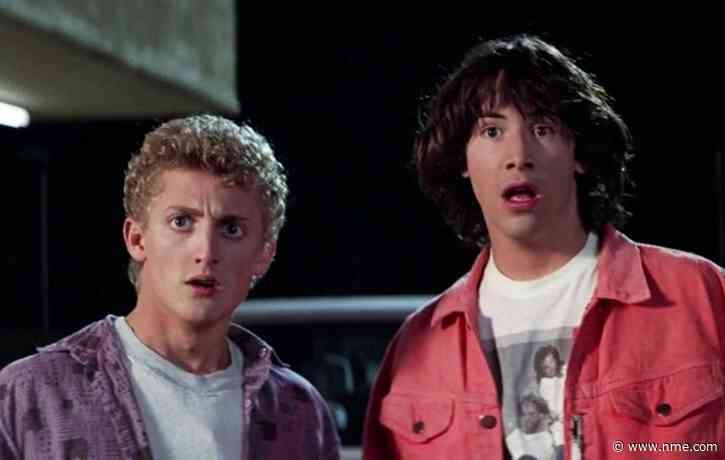 Keanu Reeves and Alex Winter are confronted with death in first-look 'Bill & Ted Face The Music' photos