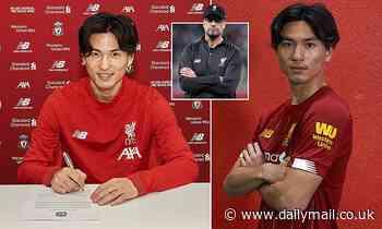 Jurgen Klopp praises 'proper team player' Takumi Minamino after signing him for £7.25m