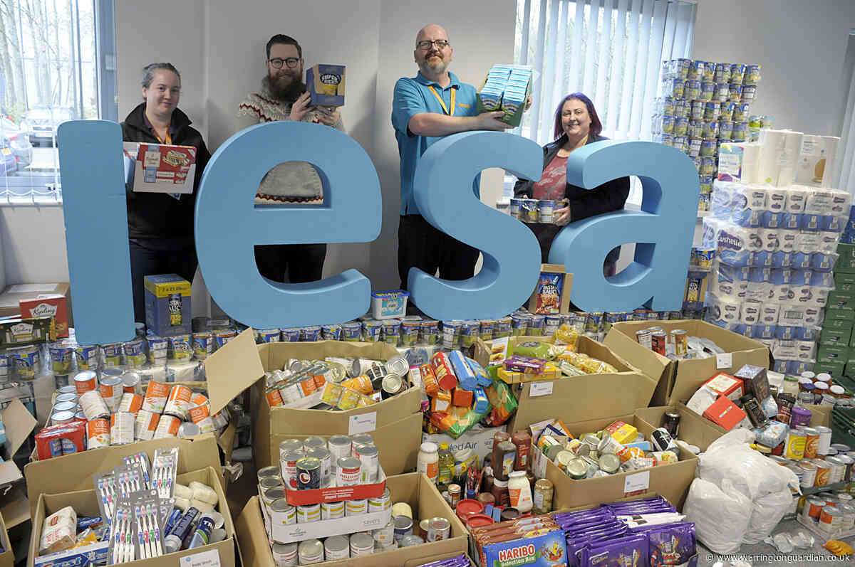 Iesa Donates 25 Tonnes Of Food To Warrington Foodbank In