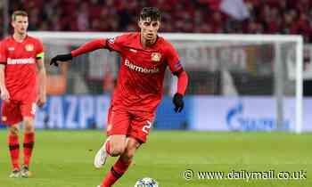 Manchester City and United 'hold concrete talks' with Bayer Leverkusen star Kai Havertz
