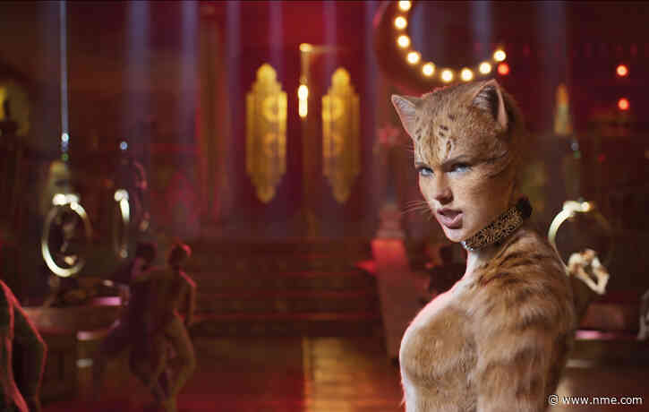 Watch Taylor Swift, James Corden and 'Cats' cast's mad makeshift instruments performance
