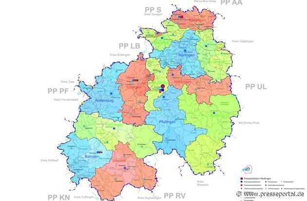 POL-RT: Polizeistruktur 2020 - Startschuss für das veränderte Polizeipräsidium Reutlingen am 1. Januar 2020 (Landkreise Esslingen, Reutlingen, Tübingen und Zollernalbkreis)
