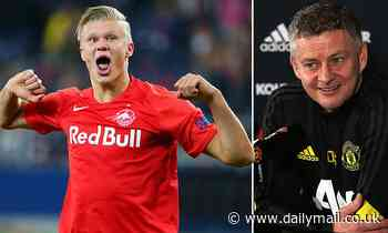 Ole Gunnar Solskjaer claims Erling Haaland is NOT on his way to Manchester for United talks