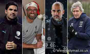 What is every Premier League manager hoping to find under the tree this Christmas?
