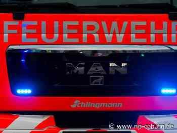 Untersiemau: Zwei verletzte Feuerwehrmänner bei Brand in Firma