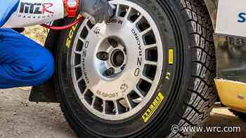 Pirelli wins WRC tyre tender