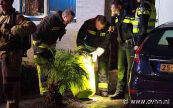 Brandende plant zet de boel op scherp in Jakob Israël de Haanstraat in Groningen