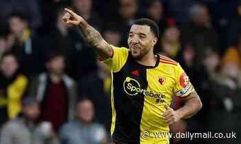 Troy Deeney insists victory over Manchester United was overdue as he hails 'massive' result