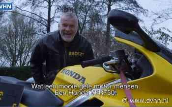 De knalgele racemotor van Henk 'broez'n' de Haan levert 10.000 euro op voor de voedselbanken in Groningen