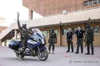 In beeld: Belgische militaire politie leidt nieuwe garde van Niger op