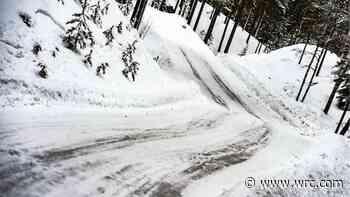 Winter arrives for Toyota's Sweden test