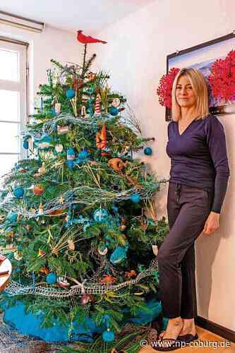 *** Der Weihnachtsbaum im Meeres-Look
