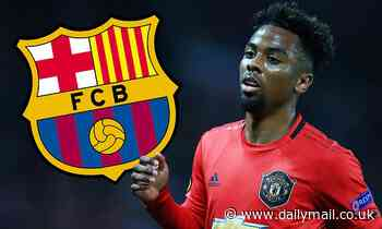 Barcelona ready to move for unsettled Manchester Utd starlet Angel Gomes