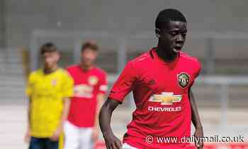 Arsenal look to snap up Manchester United's 15-year-old starlet Omari Forson