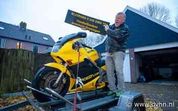 Winnares (82) geeft knalgele racemotor terug aan Voedselbank Groningen