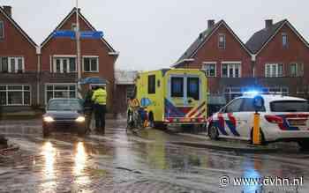 Auto schept fietser op kruising Winschoten