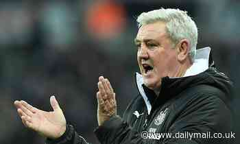 Newcastle boss Steve Bruce wants to complete a shock double over Manchester United this season