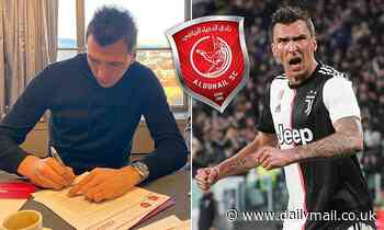 Mario Mandzukic ends speculation over future as he completes move to Qatari outfit Al-Duhail