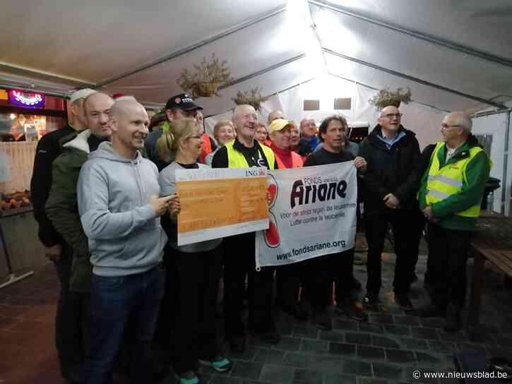 'De Warmste Mensen Van De Lindekens' wandelden 10.689 euro bij elkaar voor het Ariane Fonds