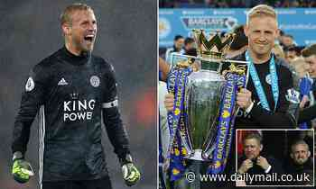 Leicester's Schmeichel is the last line of the best defence in Premier League