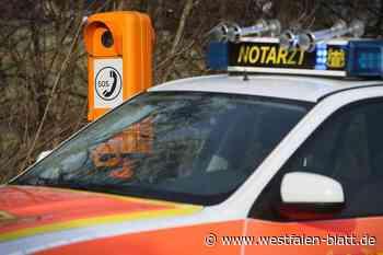 Paderborn: Zwei Radler bei Verkehrsunfällen verletzt