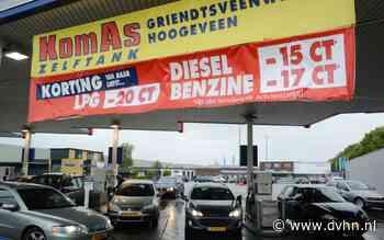 Hier tankte je dit jaar het goedkoopst in Groningen en Drenthe