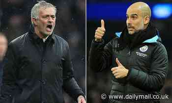 Pep Guardiola can beat Jose Mourinho as the boss to hit 100 Premier League wins in the fewest games