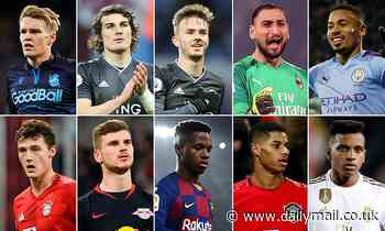 The top 50 young players in Europe (20-11): Manchester United's new main man and more...