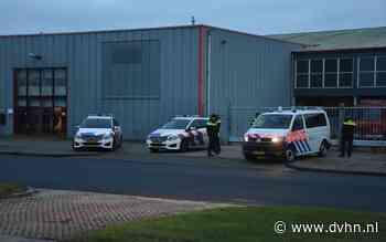 Krakers bezetten bedrijfspand in Groningen, politie grijpt in