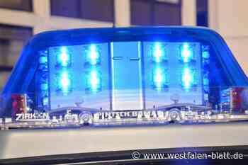 Paderborn: 350 Einsätze der Polizei an Weihnachten