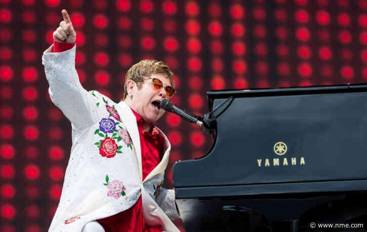 Elton John awarded highest acknowledgement in New Year Honours list