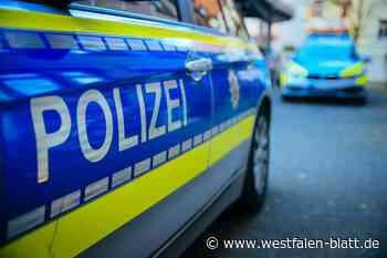 Delbrück: Tankstellenüberfall: zwei Personen flüchtig