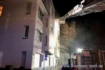 Paderborn: Zwei Menschen bei Brand verletzt