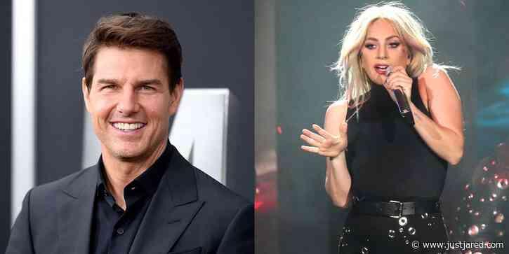 Tom Cruise Attends Lady Gaga's 'Enigma' Las Vegas Residency
