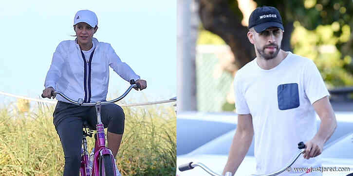 Shakira & Gerard Piqué Enjoy a Bike Ride Together During the Holidays
