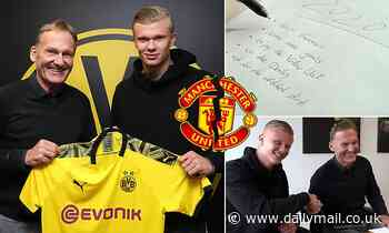 Manchester United pulled out of a deal to sign Erling Haaland over agent and father fees