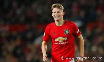 Ole Gunnar Solskjaer says Scott McTominay will be out for 'three or four weeks'