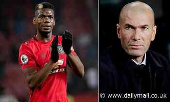 Blow for Zinedine Zidane as 'Real Madrid tell him to forget bringing Paul Pogba to the Bernabeu'