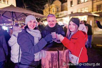 Coburger Wintermarkt lockt zahlreiche Besucher an