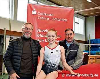 Coburg: Elfjähriges Turntalent erhält Förderung