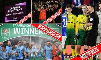 A football wishlist for the 2020s (starting with abolishing the League Cup)