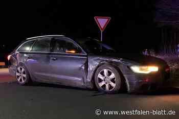 Paderborn: B64: Verkehrsunfall mit sieben Beteiligten
