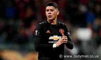 Marcos Rojo 'granted time off by Manchester United ahead of potential January exit'