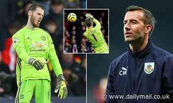 Manchester United recruit goalkeeper coach Craig Mawson from Burnley to help David de Gea