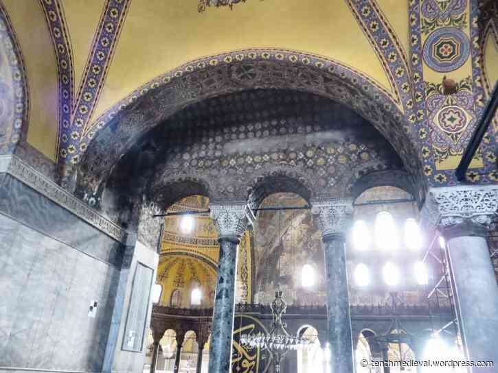 Istanbul III: finding words about Hagia Sophia