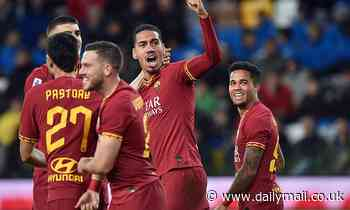 Roma 'closing in on permanent deal for Manchester United's Chris Smalling as they table £12.8m offer