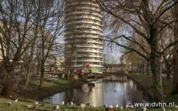 Architect verstopt Selwerderdiepje in spectaculaire woontoren Groningen