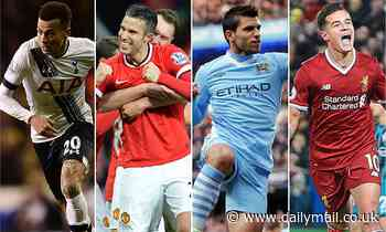 Sportsmail counts down the 20 best Premier League signings of the decade