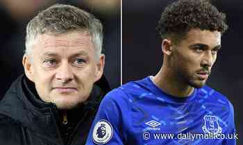 Man United 'put Dominic Calvert-Lewin at the top of their wishlist' after missing out on Haaland